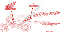 MARK (CB600F2) for Honda CB 600 F HORNET 2002