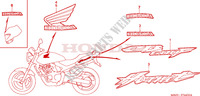 MARK (CB600F3/4/5/6) for Honda CB 600 F HORNET 34HP 2004