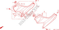 SIDE COVER (CB600F3/4/5/6) Frame 600 honda-motorcycle HORNET 2006 F__1601