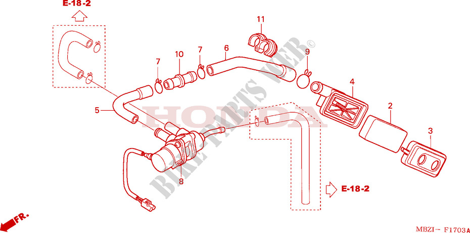 F__1703 sub air cleaner cb 600 f hornet cb600f3 2003 nederland cb600f3 hornet 740t wiring diagram at crackthecode.co