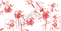 CARBURETOR (COMPONENT PARTS) for Honda CB 600 F HORNET 1999