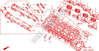 CYLINDER HEAD for Honda CB 600 HORNET 34HP 1998