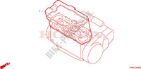 GASKET KIT for Honda CB 600 HORNET 34HP 1998