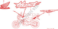 MARK (1) for Honda CB 600 F HORNET 2001