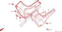 SIDE COVER Frame 600 honda-motorcycle HORNET 2001 F__1600