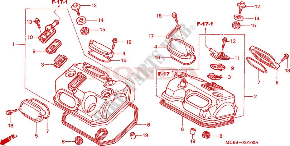 Areyourshop Cylinder Head Valve Cover Gaskets for H-O-N-D-A VT600 C Shadow XLV 600 650 Transalp 87-07