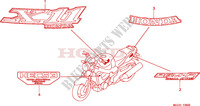 MARK Frame 1100 honda-motorcycle CB 2001 F__3600