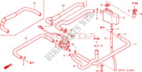 AIR INJECTION CONTROL VALVE Honda motorcycle microfiche diagram VTR1000SPY 2000 VTR 1000 SP1