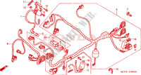 WIRE HARNESS (FRONT) Honda motorcycle microfiche diagram VTR1000SPY 2000 VTR 1000 SP1