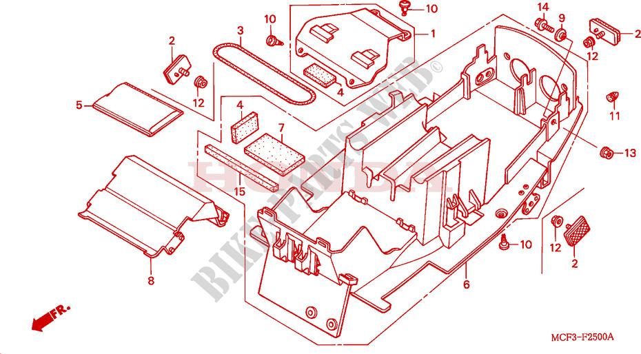 Vtr 1000 Parts 2001 Vtr 1000 Sp1