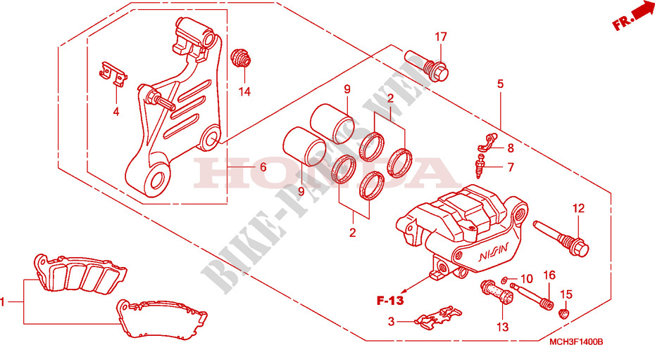 vtx 1800 engine diagram rear brake caliper vtx1800c2 3 4 frame vtx1800c3 2003 vtx ... vtx 1800 c wiring diagram