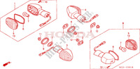 INDICATOR (2) for Honda CBR 954 FIREBLADE 2002
