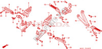 STEP for Honda CBR 954 FIREBLADE 2002