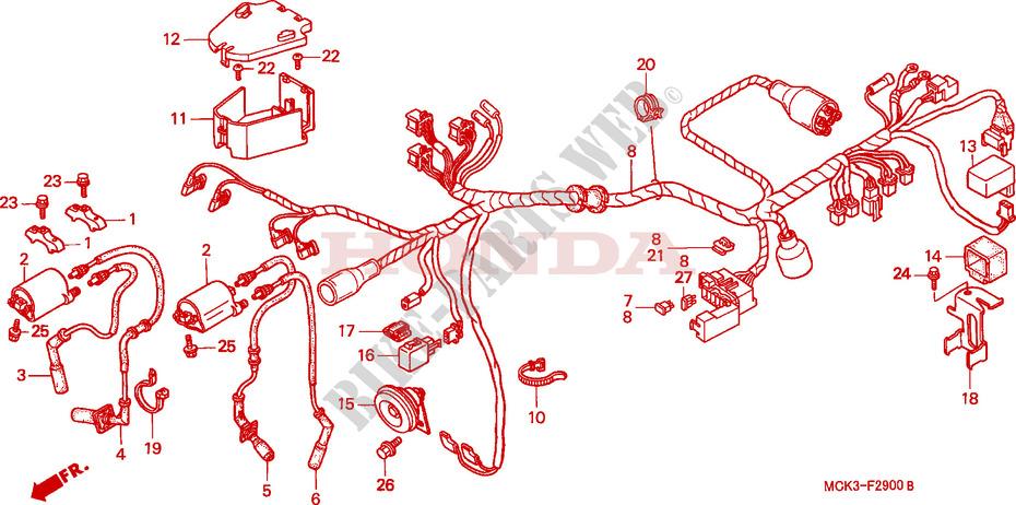 2002 Honda Shadow Sabre Wiring Diagram