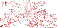 SEAT for Honda SILVER WING 600 2004