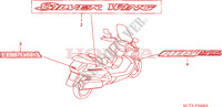 STICKERS for Honda SILVER WING 600 2004
