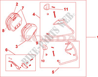 35 L PANNIER KIT GLORY RED Honda motorcycle microfiche diagram VFR800A9 2011 VFR 800 VTEC ABS WHITE