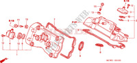 CYLINDER HEAD COVER Honda motorcycle microfiche diagram VFR800A9 2011 VFR 800 VTEC ABS WHITE