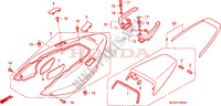 REAR COWL Honda motorcycle microfiche diagram VFR800A9 2011 VFR 800 VTEC ABS WHITE