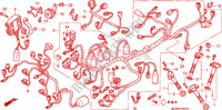 WIRE HARNESS (VFR800A) Honda motorcycle microfiche diagram VFR800A9 2011 VFR 800 VTEC ABS WHITE