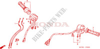 LEVER   SWITCH   CABLE for Honda VFR 800 VTEC ABS WHITE 2010
