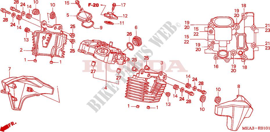 Vtx 1300 Engine Diagram | Wiring Diagram