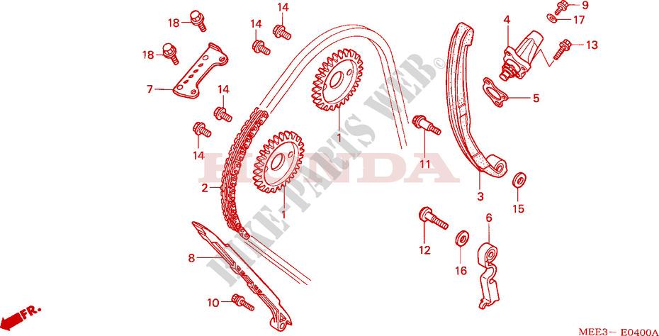 Cam Chain Tensioner For Honda Cbr 600 Rr 2005 Honda Motorcycles