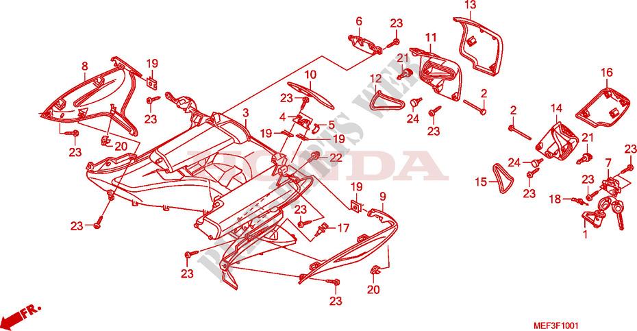 inner box fjs400d9 fjs40 0a frame fjs400d9 2009 silverwing 400 rh bike parts honda com