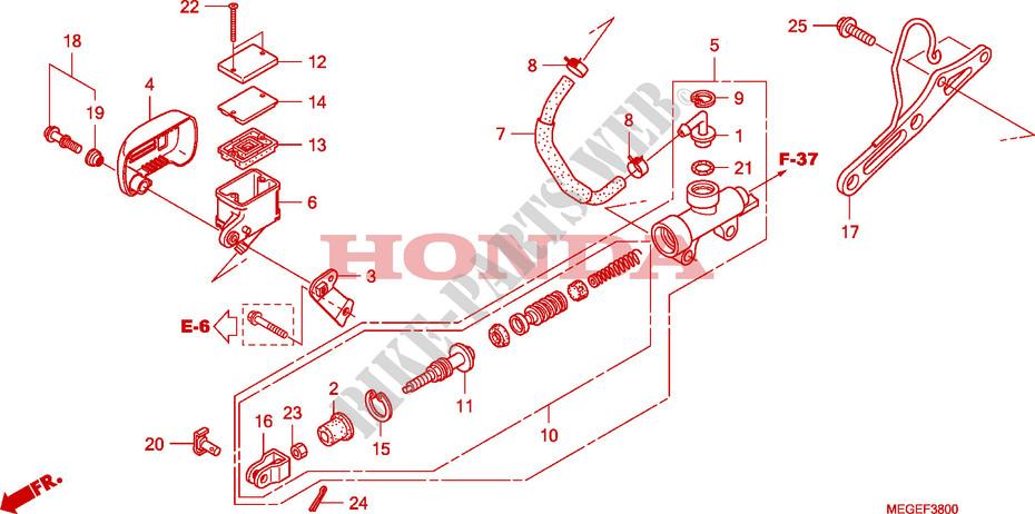 Wire Harness Vt750c2b  For Honda Shadow Phantom 750 2011
