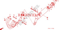 EXHAUST MUFFLER for Honda CB 1300 2003