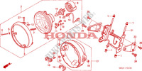HEADLIGHT (1) for Honda CB 1300 2003
