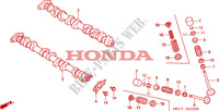 CAMSHAFT Engine 1000 honda-motorcycle CBR 2005 E__0300