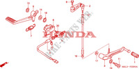 PEDAL Frame 1000 honda-motorcycle CBR 2005 F__2200
