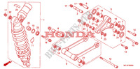REAR CUSHION Frame 1000 honda-motorcycle CBR 2005 F__2600