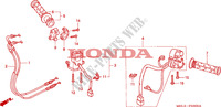 SWITCH/CABLE Frame 1000 honda-motorcycle CBR 2005 F__0300