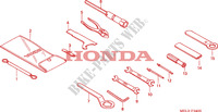 TOOLS for Honda CBR 1000 RR FIREBLADE HRC 2007