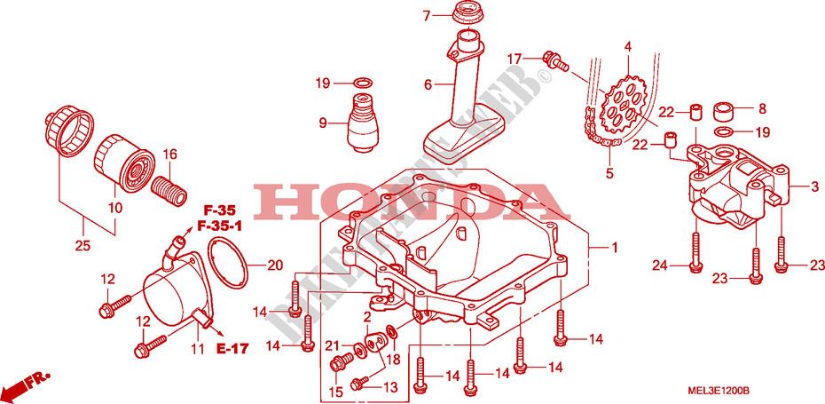 Oil Pan Pump Engine Cbr1000rr7 2007 Cbr 1000 Moto Honda. Honda Moto 1000 Cbr 2007 Cbr1000rr7 Engine Oil Panoil Pump. Honda. Honda Cbr 1000rr Engine Diagram At Scoala.co