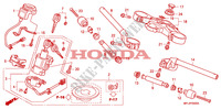 HANDLE PIPE/TOP BRIDGE Frame 1000 honda-motorcycle CBR 2008 F__0500