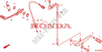 PEDAL Frame 1000 honda-motorcycle CBR 2010 F__2000