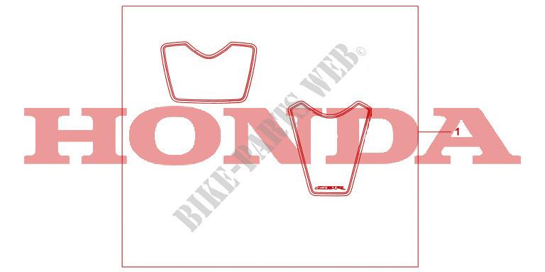 Racing Stickers Accessories Cbr1000rr8 2008 Cbr 1000 Moto Honda