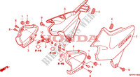 SIDE COVER Honda motorcycle microfiche diagram CB1300SAA 2010 CB 1300 abs * fairing