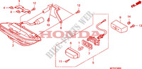 TAILLIGHT Honda motorcycle microfiche diagram CB1300SAA 2010 CB 1300 abs * fairing