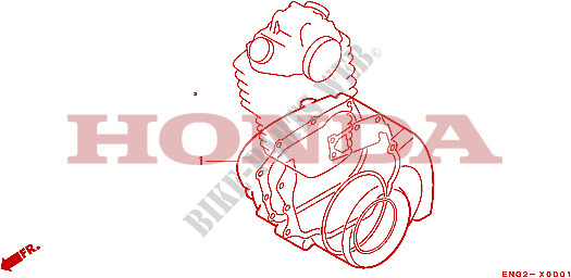 Gasket Kit For Honda Xr 600 R 1986   Honda Motorcycles  U0026 Atvs Genuine Spare Parts Catalog