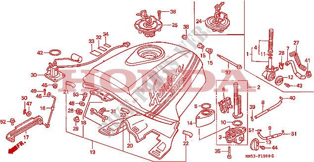 Fuel Tank Frame Cbr1000fj 1988 Cbr 1000 Moto Honda Motorcycle. Honda Moto 1000 Cbr 1988 Cbr1000fj Frame Fuel Tank. Honda. Honda Cbr 1000 Fuel Line Diagram At Scoala.co