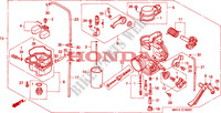 CARBURETOR Engine 600 honda-motorcycle XR 1996 E__1600