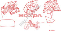 MARK (1) Frame 600 honda-motorcycle XR 1995 F__2900