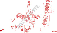 STEERING STEM Frame 600 honda-motorcycle XR 1995 F__0600