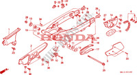 SWINGARM/CHAIN CASE Frame 600 honda-motorcycle XR 1995 F__2100