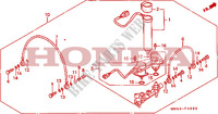 AIR DISTRIBUTOR Frame 1500 honda-motorcycle GOLD-WING 1992 F__4900