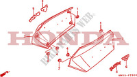 SIDE COVER Frame 1500 honda-motorcycle GOLD-WING 1992 F__2300